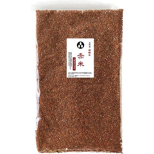 古代米 赤米  (令和2年産 国内産100%) お徳用 900gパック (投函便対応)|manryo