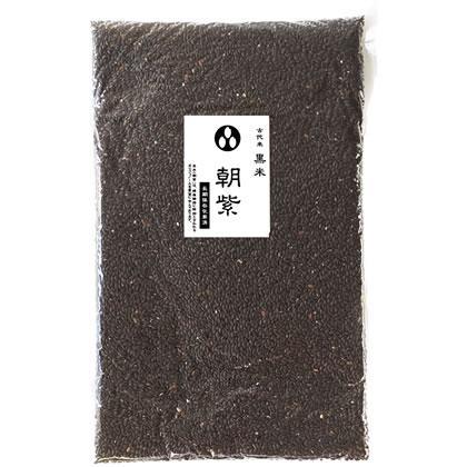 令和2年産 黒米 秋田県/山梨県産 お徳用 900gパック 投函便対応|manryo