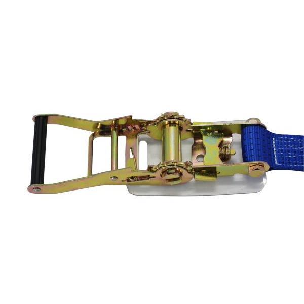 ラッシングベルト Dリング5ton 幅50mm 長さ1+5m ベルト荷締め機 タイダウンベルト 荷締めベルト|manten-tool|02