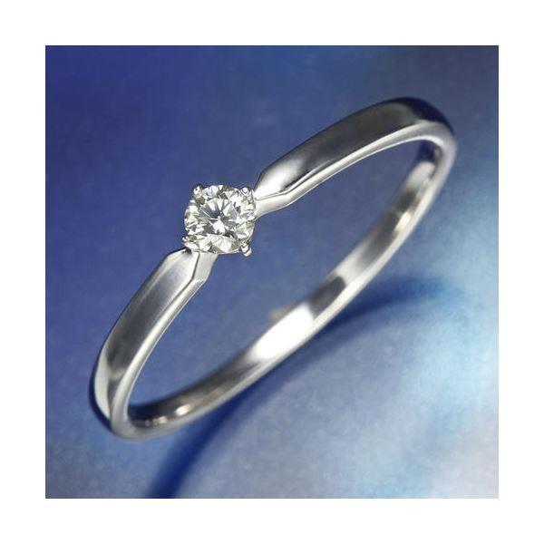 【着後レビューで 送料無料】 K18WGダイヤリング 指輪 19号, ECJOY! 0205ea7f
