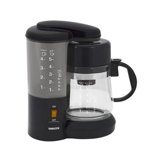 コーヒーメーカー 山善 YCA-501-B|manzoku-tonya