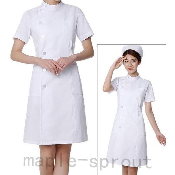 ナースウエア 医用ワンピース 白衣 女性 医療用 作業着・服 手術衣・オペ着 看護 介護|maple-sprout|02