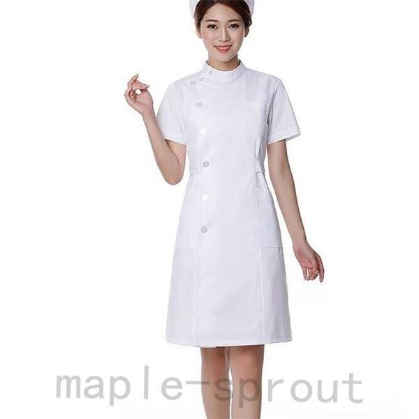 ナースウエア 医用ワンピース 白衣 女性 医療用 作業着・服 手術衣・オペ着 看護 介護|maple-sprout|04