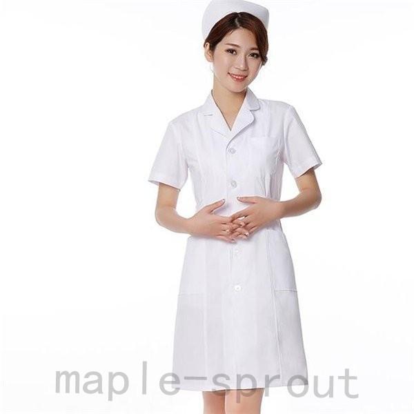 ナースウエア 医用ワンピース 白衣 女性 医療用 作業着・服 手術衣・オペ着 看護 介護|maple-sprout|06