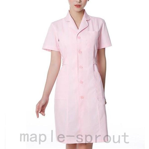 ナースウエア 医用ワンピース 白衣 女性 医療用 作業着・服 手術衣・オペ着 看護 介護|maple-sprout|07