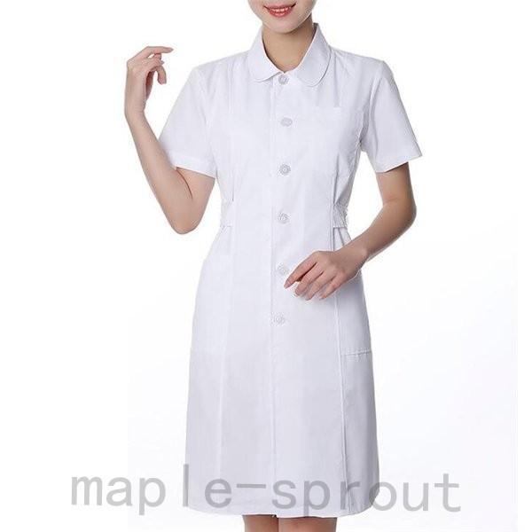 ナースウエア 医用ワンピース 白衣 女性 医療用 作業着・服 手術衣・オペ着 看護 介護|maple-sprout|08