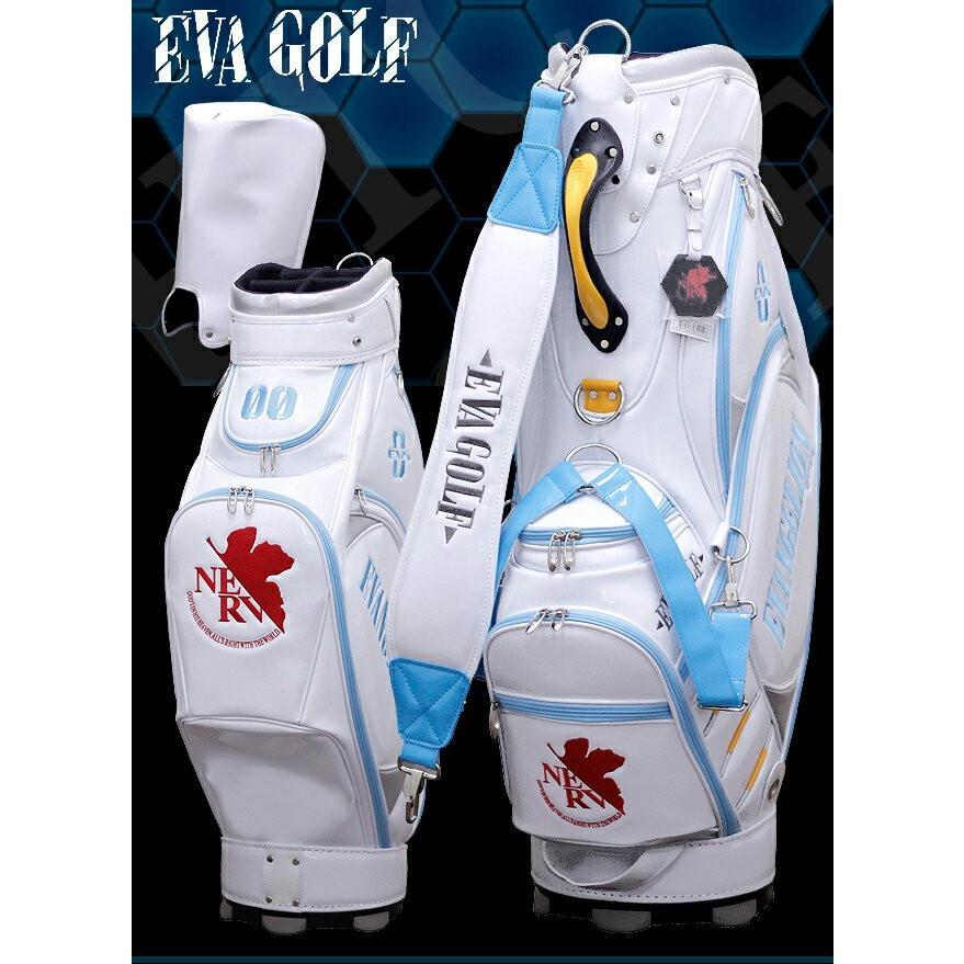 エヴァ ゴルフ エヴァンゲリオン ゴルフ キャディバッグ 零号機 0号機 綾波レイ 限定品 ゴルフ用品 ハロウィン ゴルフバッグ