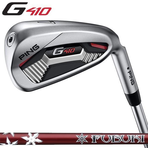 アイアン PING ピン G410 アイアン PING FUBUKI 5I〜PW(6本セット)日本正規品 ゴルフ用品 右用 左用 (左右選択可)