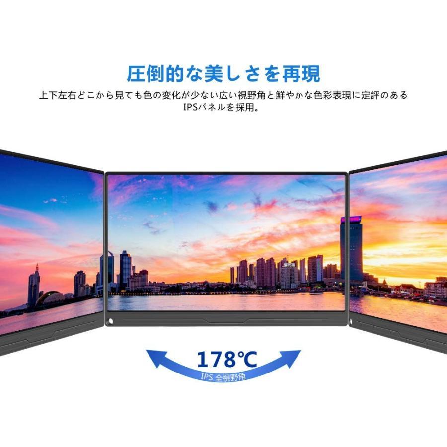 EVICIV 13.3インチ/モバイルモニター/モバイルディスプレイ/薄型/IPSパネル/USB Type-C/標準HDMI/mini DP DP DP d5c