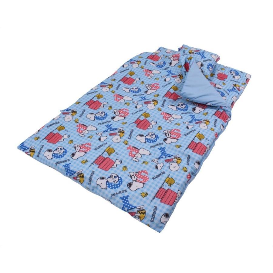 mo-goods キッズ・ジュニア用寝具 ブルー 子供用 MO-90-7-BL