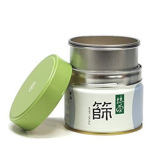 茶道具/茶漉し丸久小山園特製 抹茶篩缶セット(缶型抹茶ふるい缶)|mapletreehouse