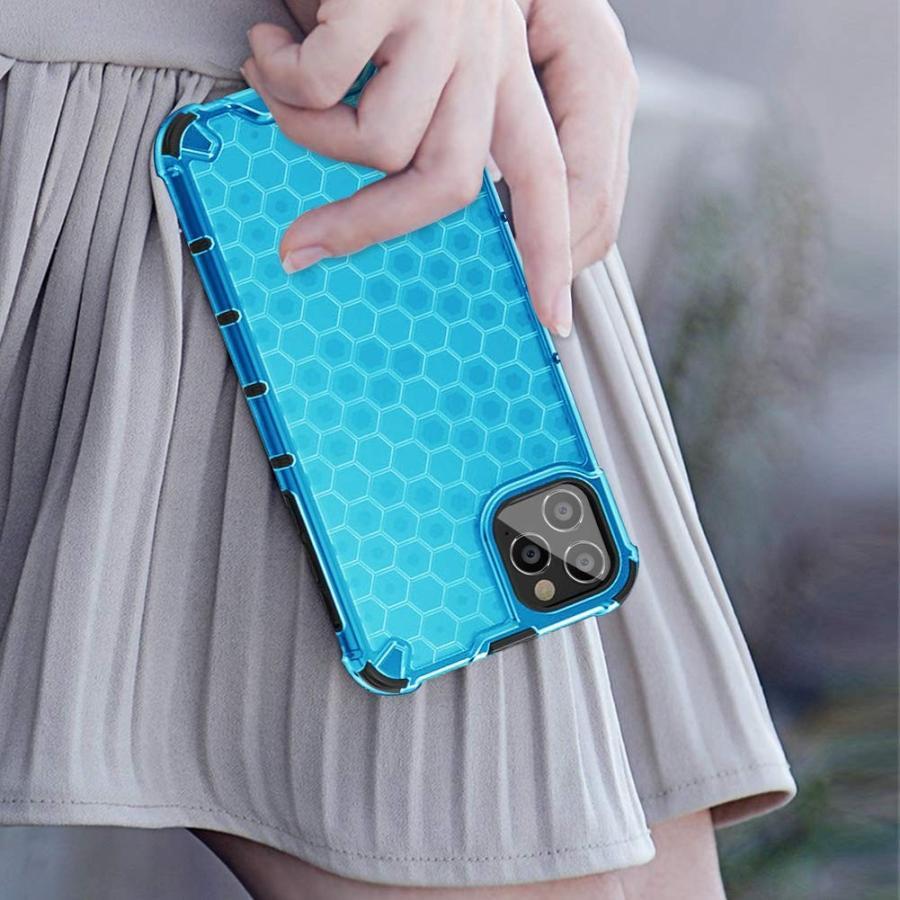 【再入荷】 iPhone 11 強化有機ガラス背面+TPUバンパーアイホン ストラップホール付き 四隅滑り止め 衝撃吸収 ワイヤレス充 黄変防止 ケース-介護用品
