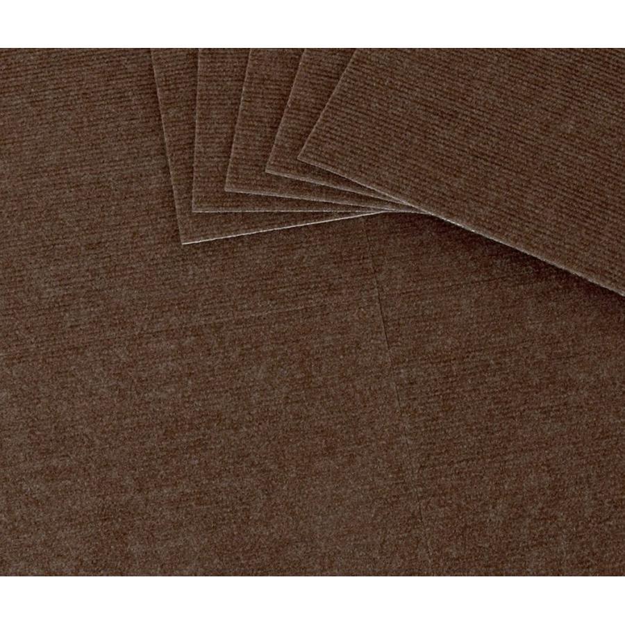 品質検査済 ループ 9枚組 30X30cm 吸着ぴたマット ブラウン ワタナベ工業 国産タイルカーペット-介護用品