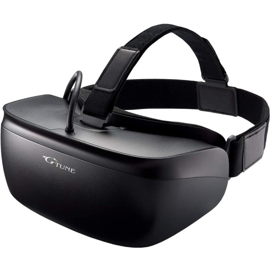 mouse G-Tune Steam VR対応 VRヘッドマウントディスプレイ GTCVRBK1|mapletreehouse|08