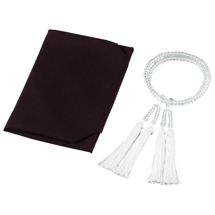 (代引不可)特撰 水晶二輪正絹松風頭房共仕立正絹ふくさ 401-5000