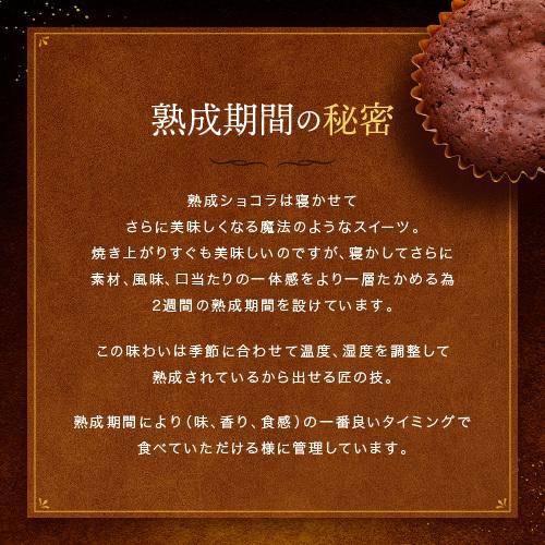チョコレート 母の日 子供の日 ケーキ 2021 神戸熟成ショコラ3個入 ガトーショコラ 個包装 ギフト チョコ スイーツ ブランド 日本 美味しい プレゼント 人気 maquis 04
