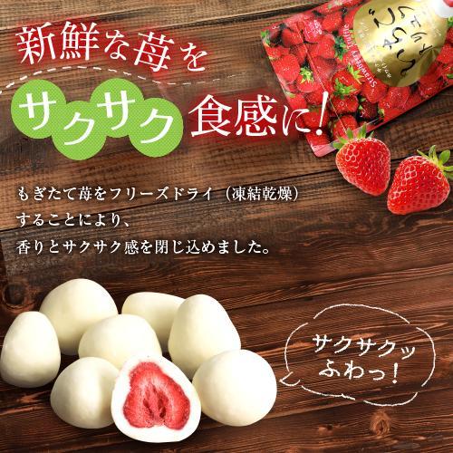 マキィズ チョコ トリュフチョコレート いちご お菓子 スイーツ  いちごトリュフ Sack 165g 苺|maquis|02