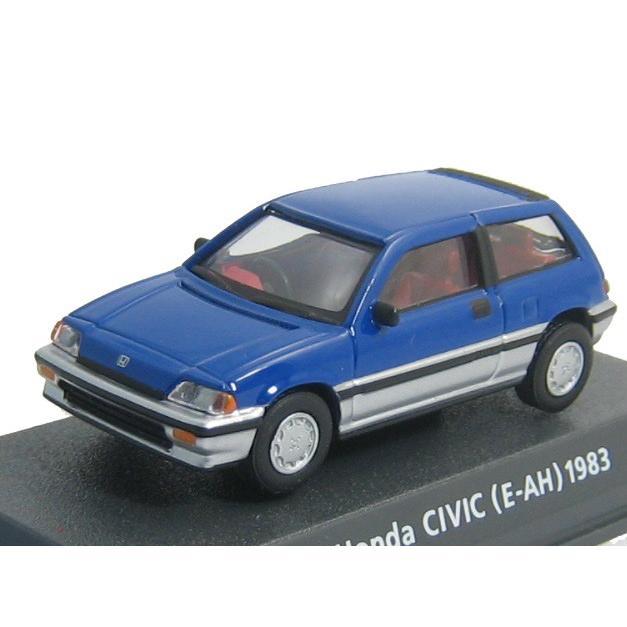 コナミ 1/64 Car of the 80's EDITION BLUE ホンダ ワンダーシビック(E−AH) 1983 青 未開封新品同様