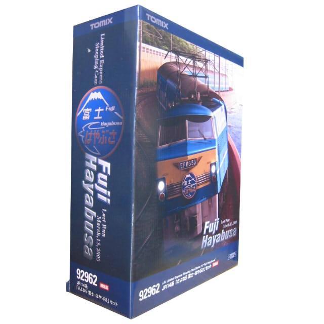 TOMIX Nゲージ JR14系 「さよなら 富士・はやぶさ」 16両セット 92962