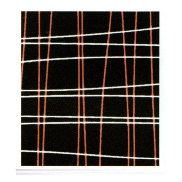 チョコレート用 転写シート(フィル オレンジと白)125枚