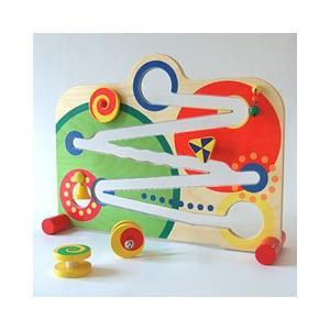 「ディスクレーン・ベラピスタ」木のおもちゃ 知育玩具