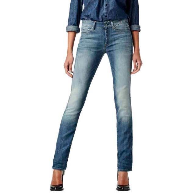 【予約中!】 ジースター レディース 女性用ウェア ズボン gstar 3301-contour-high-waist-straight, タラミチョウ 2c686d1a
