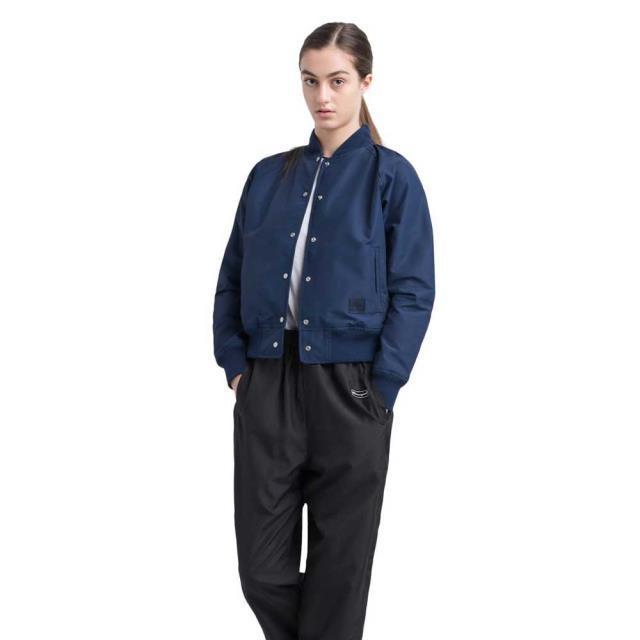 【在庫僅少】 ハーシェル レディース 女性用ウェア ジャケット herschel varsity-jacket, インパクトオンライン 3ddb0fe8