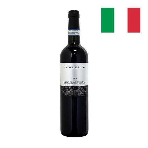 コルデラ ロッソ ディ モンタルチーノ 2014  赤ワイン フルボディ オーガニックワイン ビオワイン イタリアトスカーナ 750ml 自社輸入 mariage