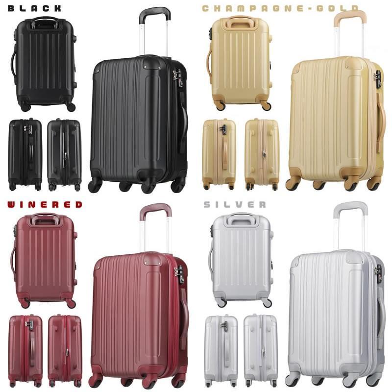 カジュアルスーツケース キャリーバッグ 超軽量 機内持ち込み 小型 おしゃれ W-5082-48|marienamaki|13