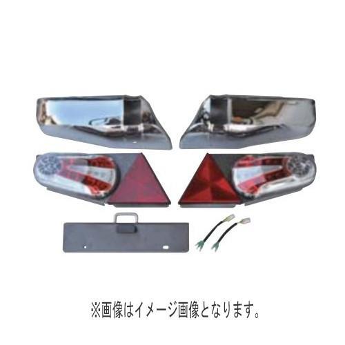 TIGHT JAPAN(タイトジャパン) レイズ テールランプキット (プラチナブラック&ミラー)
