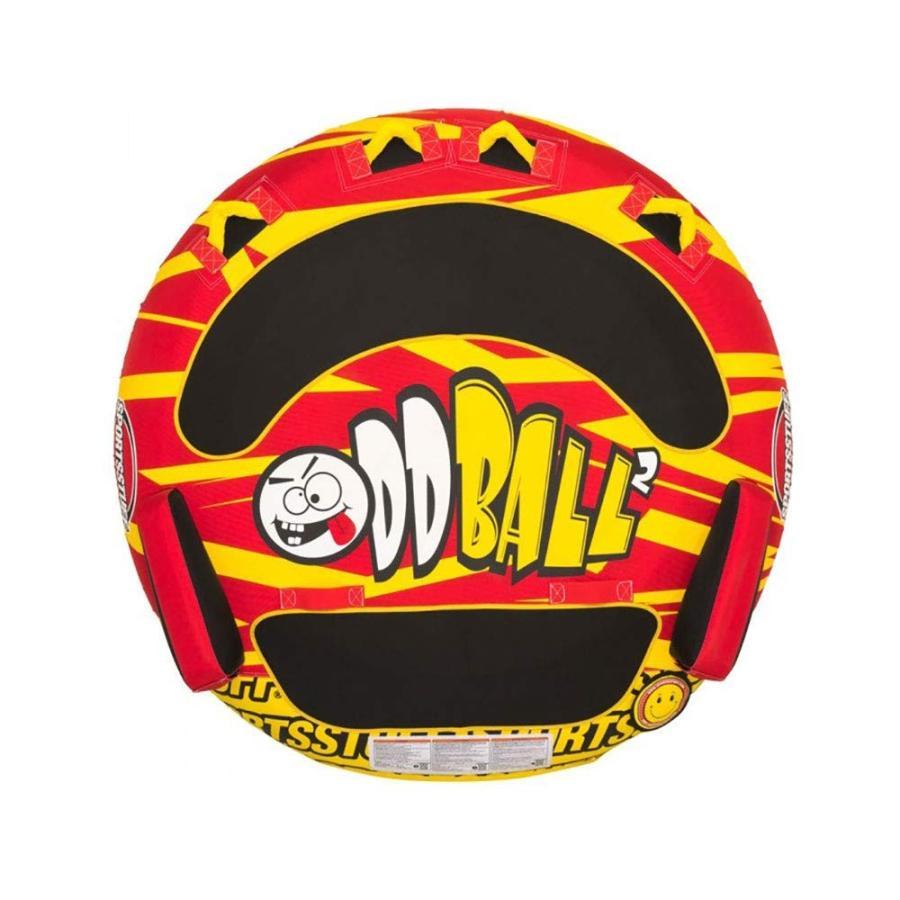 トーイングチューブ【SPORTSSTUFF】 1·2人乗り オッドボール Oddball 2