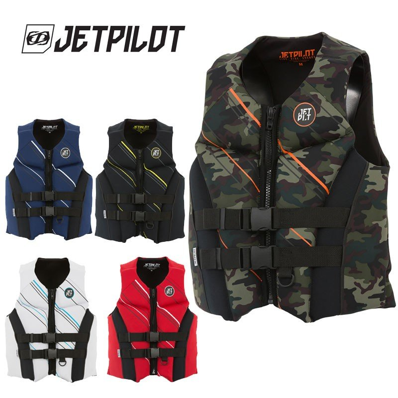 JETPILOT(ジェットパイロット) 2019モデル FREERIDE F/E NEO CGA VEST ライフジャケット-JCI予備検査承認