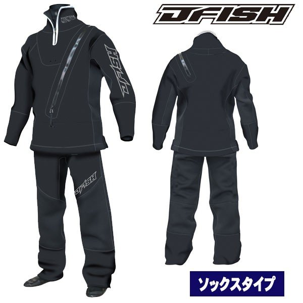 J-FISH/ジェイフィッシュ 2018-19モデル ウェットドライスーツ(ソックスタイプ)  メンズドライスーツ