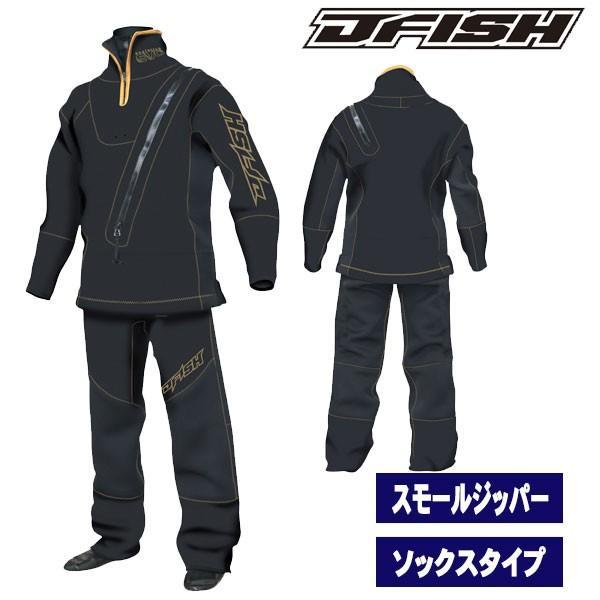 J-FISH/ジェイフィッシュ 2018-19モデル メンズ ウェットドライスーツ スモールジッパータイプ