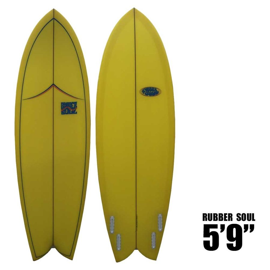 無料発送 RUBBER SOUL SURFBOARD Fishes RUBBER 5'9 ラバーソウルサーフボード SOUL SURFBOARD/ショートボード[送料無料][あすつく], Interiorshop COZY:525a6951 --- airmodconsu.dominiotemporario.com