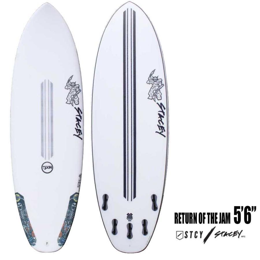 ショートボード STACEY SURFBOARDS RETURN OF THE JAM 5'6 ステイシー サーフボード リターンオブザジャム Shaped by LEE STACEY FCS2 サーフィン