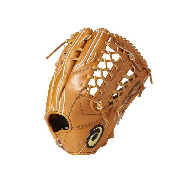 アシックス asics 【専用グラブ袋付き】ゴールドステージ スピードアクセル 硬式用グラブ 外野手用 野球 硬式 グローブ 外野手用