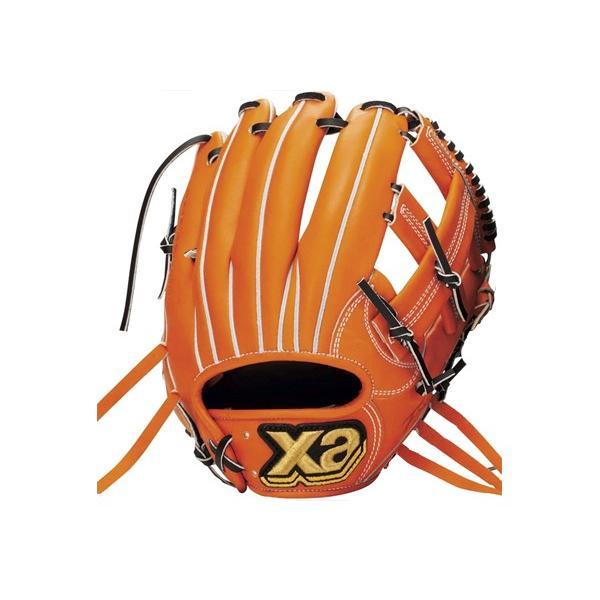 ザナックス XANAX 【専用グラブ袋付き】トラスト 硬式用グラブ 内野手用 野球 硬式 グローブ 内野手用
