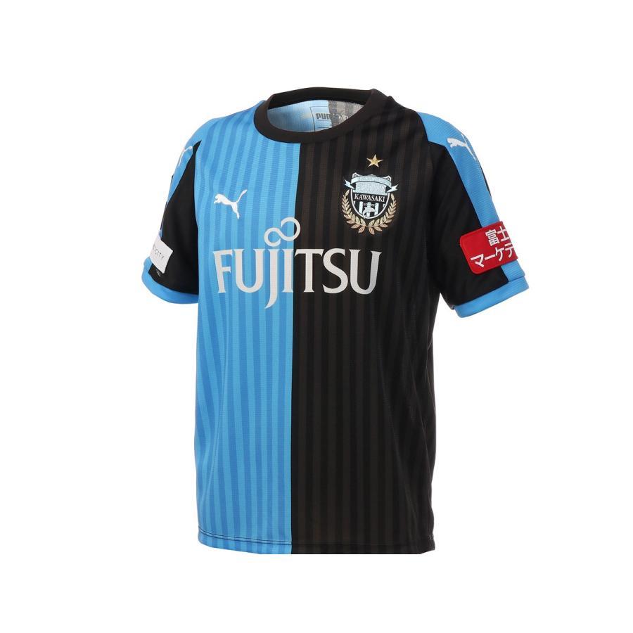 プーマ PUMA ジュニア 2018 フロンターレ ホーム SSシャツ サッカー ユニホーム レプリカ