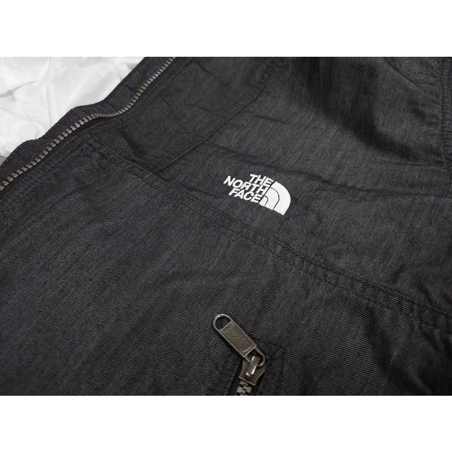 ノースフェイス THE NORTH FACE メンズ ナイロンデニムコンパクトジャケット カジュアル ウェア アウター mario 04