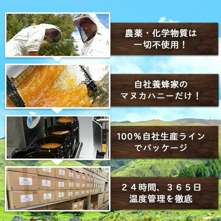 マヌカハニー はちみつ MGS 16+ MG 600+ 250g 送料無料 無添加 非加熱 Manuka Honeyとは|maririnz-manukahoney|11