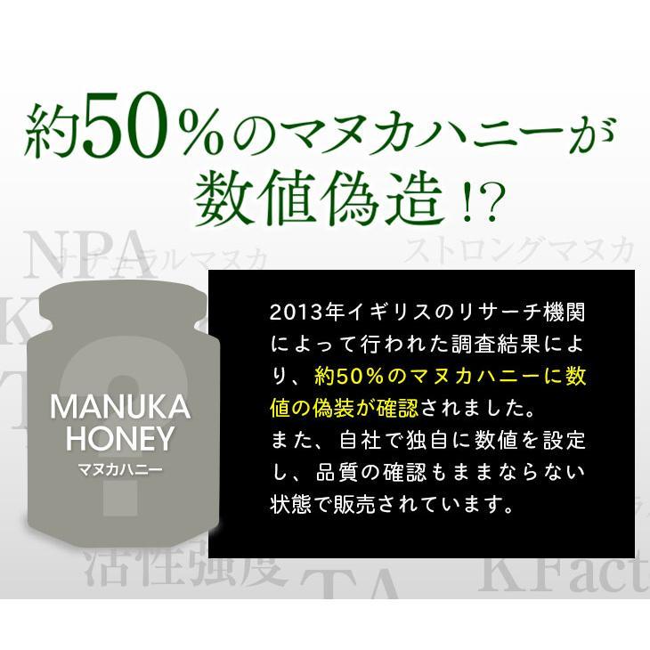 マヌカハニー はちみつ MGS 16+ MG 600+ 250g 送料無料 無添加 非加熱 Manuka Honeyとは|maririnz-manukahoney|06