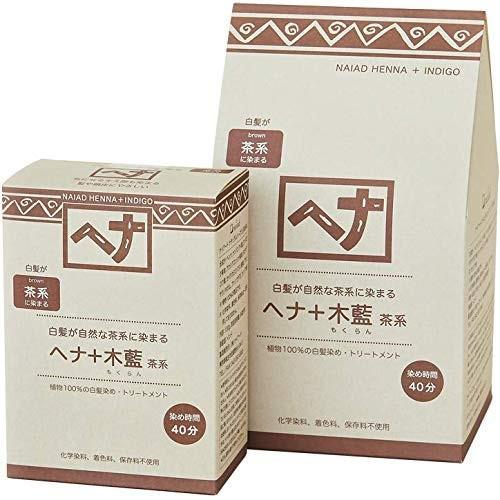 Naiad(ナイアード) ヘナ+木藍 茶系 100g maritakashop 02