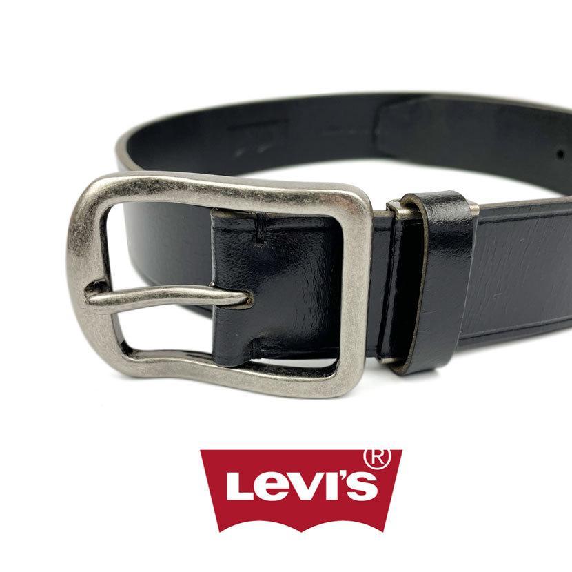 ベルト Levis リーバイス ギャリソン レザー ベルト 合成皮革 フェイクレザー メンズ レディース 男女兼用|markers-patch|02