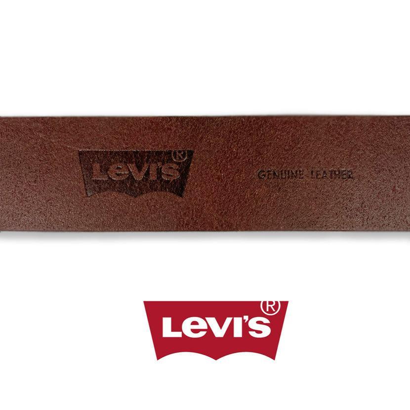 ベルト Levis リーバイス ギャリソン レザー ベルト 合成皮革 フェイクレザー メンズ レディース 男女兼用|markers-patch|05