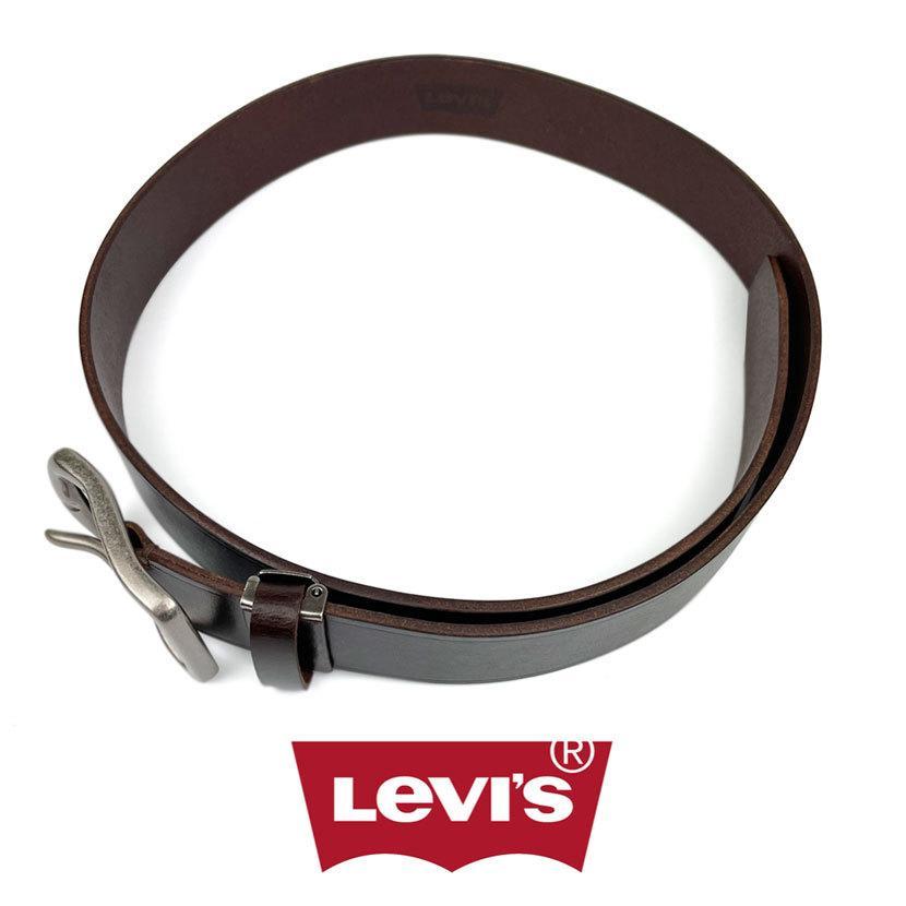 ベルト Levis リーバイス ギャリソン レザー ベルト 合成皮革 フェイクレザー メンズ レディース 男女兼用|markers-patch|06