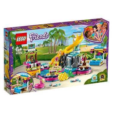 送料無料 LEGO レゴジャパン フレンズ 41374 フレンズのプールパーティ markers-patch