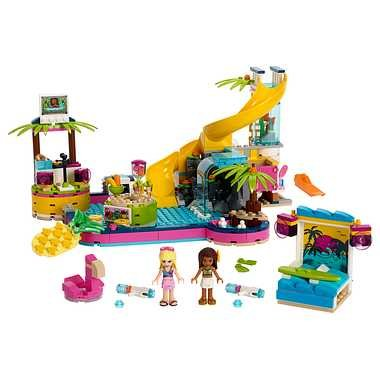 送料無料 LEGO レゴジャパン フレンズ 41374 フレンズのプールパーティ markers-patch 02