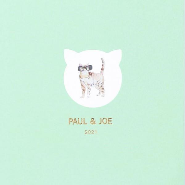 手帳 2021 スケジュール帳 ダイアリー マンスリー 2021年3月始まり B6正寸 ポール&ジョー ラ・パペトリー ガッティ・サングラス・ミント マークス|marks|05