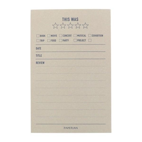 メイクアメモ メモパッド ライフログ PAPERIAN ペーパーリアン 韓国 文房具 ステーショナリー マークス marks 18